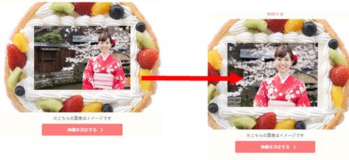 3.似顔絵にする画像のデータを添付します。